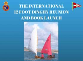The 12 foot class meets on 6th April 2018 in the Royal St. George Yacht Club in Dun Laoghaire