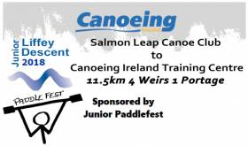 Young Kayakers Set For Tomorrow's Junior Liffey Descent