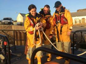 Arranmore RNLI's three new lifeboat recruits