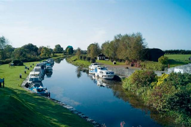 Ballinacarigy Harbour on the Royal Canal in Co Westmeath