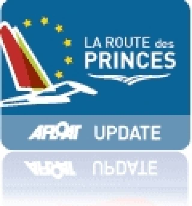 Route des Princes Race on its Way to Dun Laoghaire - ETA Wednesday