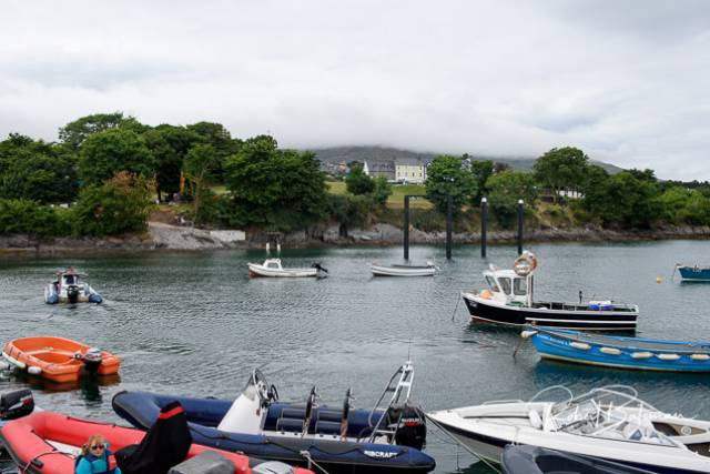 Pile driving has been completed in Schull for the new North Harbour pontoon