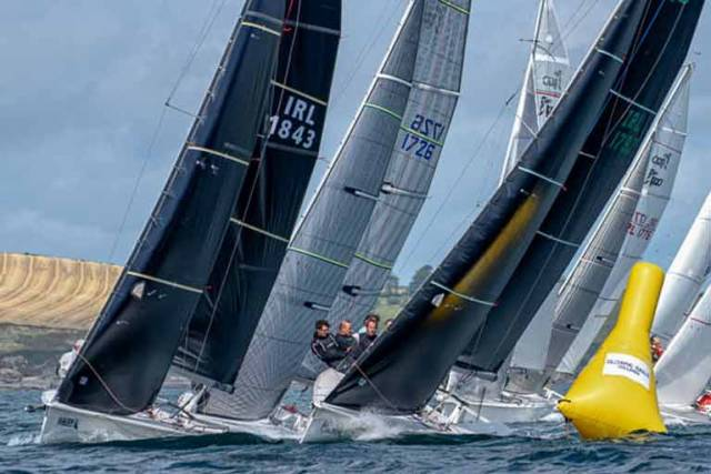 1720s are racing in Royal Cork's Spring League for Sportsboats