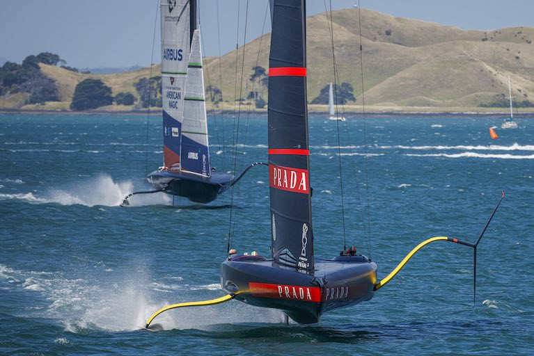 Prada Cup Semi-Final Smooth as Silk for Luna Rossa (VIDEO)