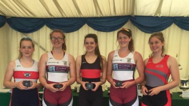 The Irish composite of NUIG, Skibbereen, UCC and Castleconnell which won at Met Regatta