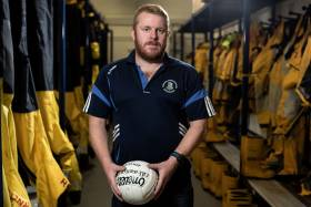 Castlehaven GAA Healthy Clubs representative and well-known open water swimmer Noel Browne urges people to fight their instincts and float if they enter the water unexpectedly