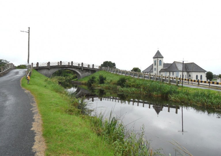 Towpath Closure On Grand Canal In Co Offaly