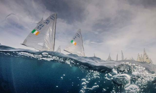 Injury Worry for Fionn Lyden at Finn Europeans