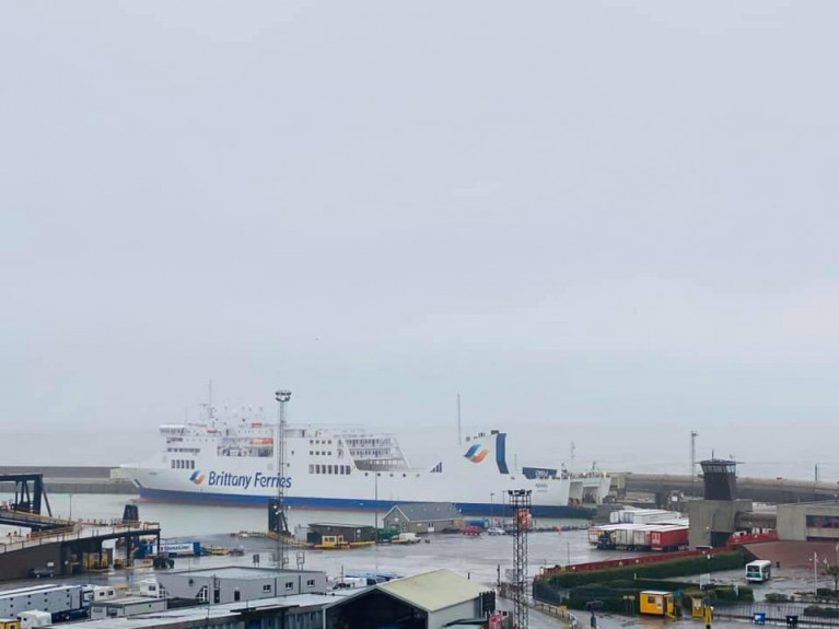 Brittany ferries maintains freight to spain but suspend - Rosslare ferry port arrivals ...