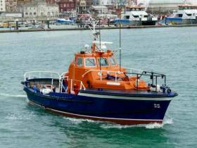 At 50 years old, the former Dun Laoghaire Harbour RNLI lifeboat, the 'Waveney' class RNLB John F Kennedy, continues a career as a private charter excursion boat