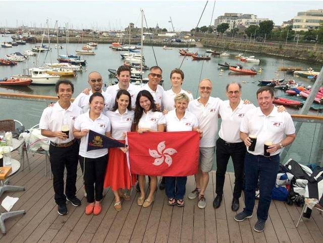 The HK team at the welcome reception in the DMYC