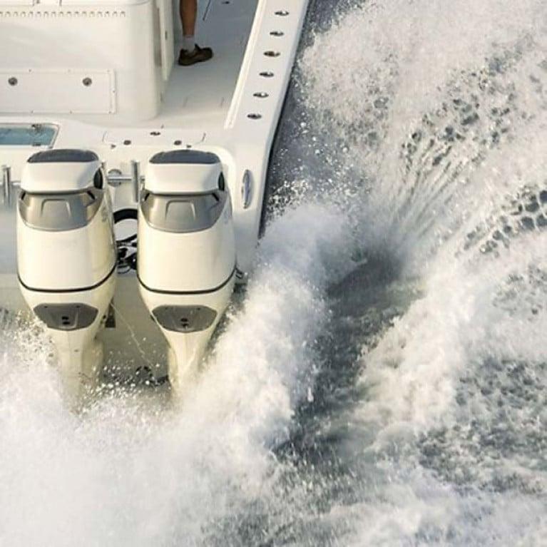 ATLANTIC 195mm Model Stainless Steel MOTORLOC Outboard Slot Transom Clamp Lock