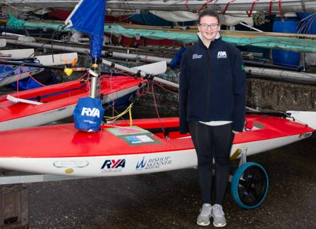 Killyleagh Topper Sailor Awarded New Boat Thanks to John Merricks Sailing Trust