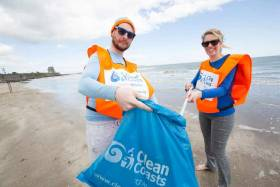 This year's beach clean removed over 32 tonnes of marine litter from our coastline