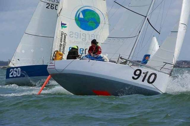 Self taught Dolan will race with Breton, Francois Jambou, his sailing school colleague from Concarneau in this first race