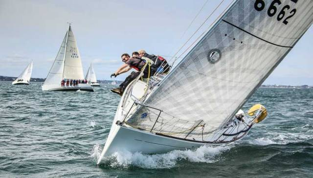 An expected 13-boat Beneteau 31.7 fleet will race a six race series from the RIYC this weekend for national championship honours
