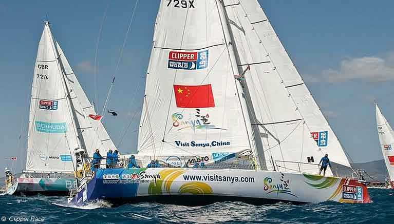 Clipper Race contender Visit Sanya China has Dublin Bay's David FitzPatrick on her crew for current leg from Perth south of Australia and Tasmania to Queensland