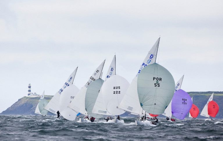 Dragon racing off Kinsale