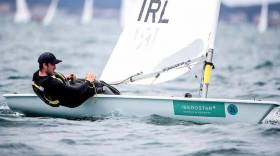 Laser sailor Finn Lynch will be hoping for another gold fleet finish in Hyeres, France next Week