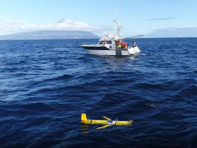 Irish Research Marine Glider Deployed In North Atlantic On New Project