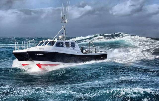 T Burke II is a Wildcat 40 vessel and one of 19 built by Safehaven and in service worldwide