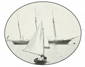 The talk, on 8th November 2018 at 8.00 pm includes many previously unseen pictures of yachting in Kingstown (Dun Laoghaire) Harbour