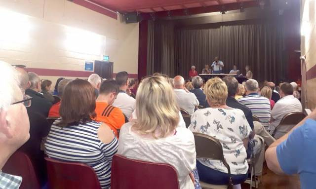 "A public inquiry into Bord Pleanala was called for at last night's meeting in Ringaskiddy Community Hall where the huge attendance resolved to ""fight Indaver to the bitter end."""