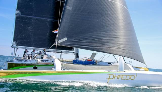 The Phaedo3 team is considering a further Round Ireland record bid