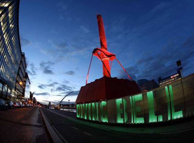 Dublin Port Landmarks To 'Go Green' For St Patrick's Day