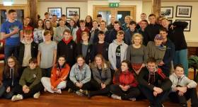 420 sailors gathered at the National Yacht Club for October's Autumn training weekend