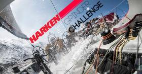 You will find the Viking Marine Harken Challenge on the forecourt of the RSGYC in Dun Laoghaire on Friday and Saturday after racing