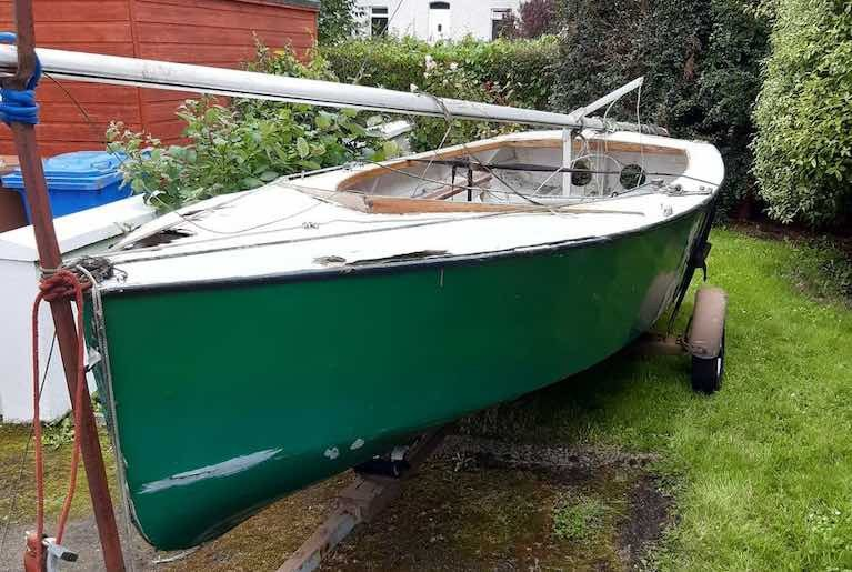 GP14 Ventura – Another Classic Dinghy Soon to be Back Afloat