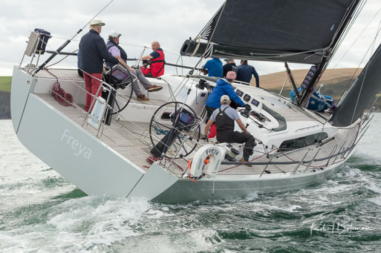 Conor Doyle's Xp 50, Freya competing in Kinsale Yacht Club's September Series. Scroll down for photo gallery