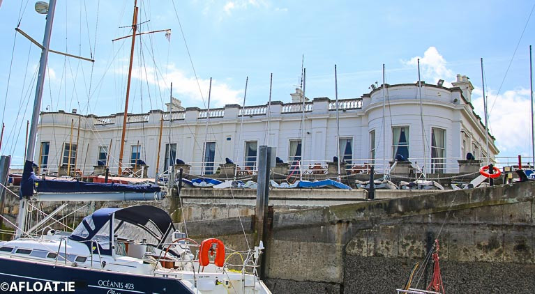 The RIYC at Dun Laoghaire Harbour