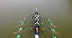 The Ireland lightweight quadruple in Plovdiv