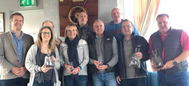 Overall Prize Winners at the Belfast Lough Autumn Series sponsored by Mackey Opticians