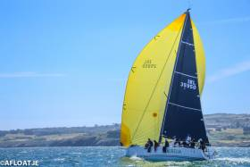 Always the Bridesmaid……The J/122 Aurelia (Chris & Patannne Power Smith) is seldom out of the frame, and tomorrow's Volvo Dun Laoghaire to Dingle race will offer a useful opportunity to take the No 1 slot