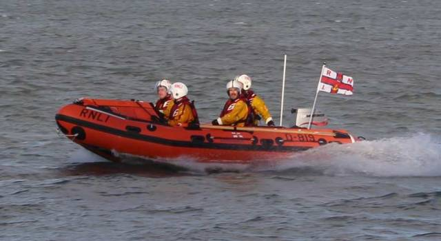 Fethard's inshore D class lifeboat