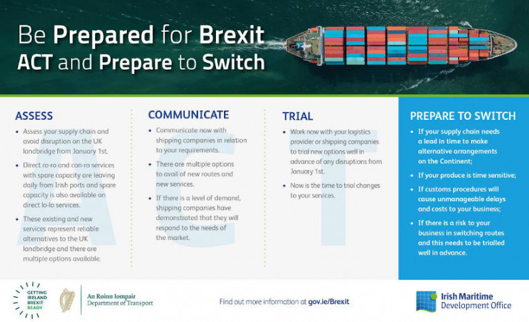 IMDO To Marine Transport: 'ACT Now & Prepare to Switch' Before Brexit