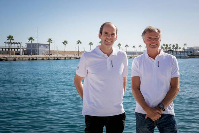 Richard Brisius and Johan Salén, president and co-president of the 2017-18 Volvo Ocean Race, also lead the new ownership consortium Atlant Ocean Racing Spain with Jan Litborn