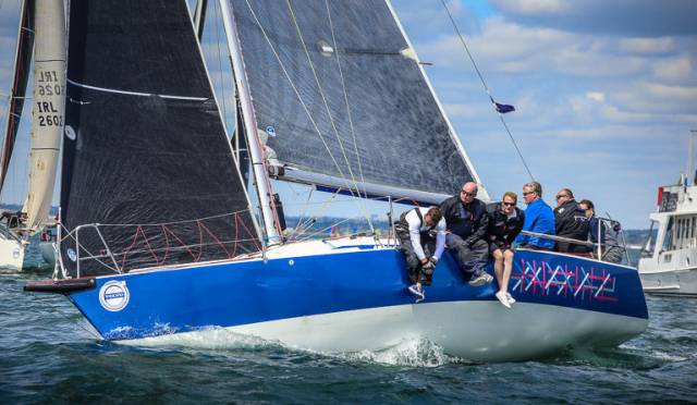 Dave Cullen's recent victories on Checkmate XV at Dun Laoghaire Regatta and the Sovereigns Cup places him best of the home fleet