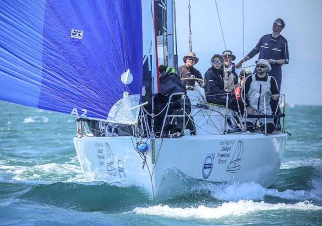 Jedi starts the 2018 Round Ireland race just days prior to the man overboard incident that's the subject of Kenneth Rumball and John White's talk