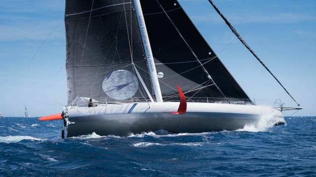 Boris Herrmann -  the solo sailor had registered a German team for The Ocean Race 2021-22