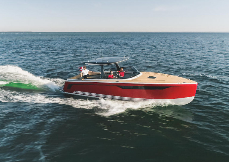 X-Yachts Team Take 'The Red Baron' X-Power 33C Out for a Spin