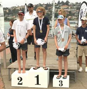 Howth's Rocco Wright Wins Sail Sydney Optimist Regatta