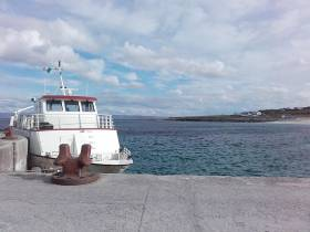 The pier at Inis Oírr