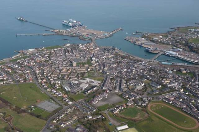 Giant Freight-Ferry Fuels Fears Holyhead Port Could be Bypassed After Brexit