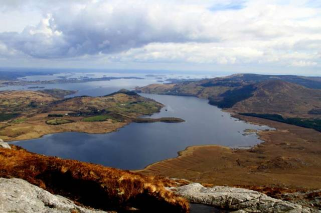 Lough Corrib, second largest lake in Ireland after Lough Neagh, which is the focus of a new community partnership to transform it into Ireland's lake district for walkers