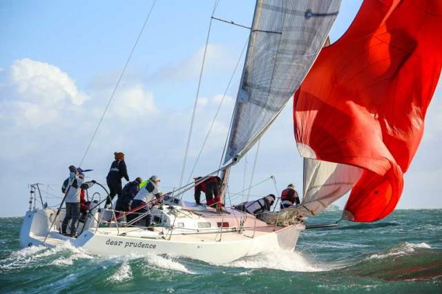 DBSC Turkey Shoot Leader Change as Winds Lighten on Dublin Bay