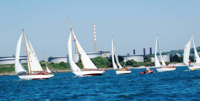 Traditional boats will be sailing at Crosshaven this weekend